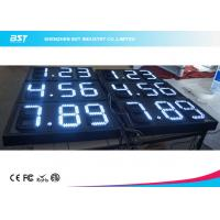Quality White 8 Inch 7 Segment Led Display Gas Station Price Signs For Retail for sale