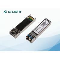 China 10km Single Mode JUNIPER SFP Modules SFPP-10GE-LR For Fast Ethernet , 10.5 Gb/s for sale
