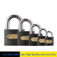Quality Universal Grey Iron High Security Padlock Waterproof With Hard Lock Beam for sale