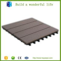 China Products list indoor and outdoor wpc portable composite decking tiles for sale on sale