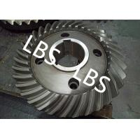 Quality Steel Spiral Bevel Double Helical Gear Shaft Polishing Anodic Oxidation for sale