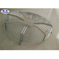 Exhaust Fan Grill Cover , Low Carbon Steel Galvanized Metal Fan Grill For