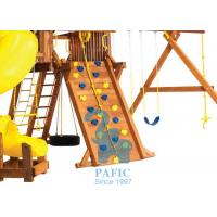 Buy Anti-UV Kids Outdoor Playsets , Plastic Holds for Climbing Wall with Metal at wholesale prices