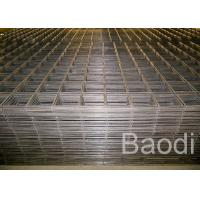 Buy cheap Thread Bar Heavy Duty Welded Wire Mesh Panels For Building Floor, Reinforced Concrete Mesh from wholesalers