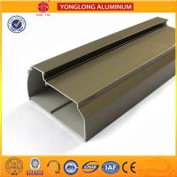 Quality Eletrophoresis Aluminum Window Profiles Matte , Flat , Smooth And Shining for sale