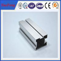 Quality Hot! Matte anodizing aluminum extrusion profiles sliding door, anodized 6000 series alu for sale