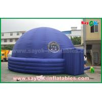 Quality Blue 7m DIA Inflatable Planetarium Dome Durable Architecture Projection Tent for sale
