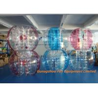 Quality Customized Double Inflatable Human  Bubble Ball Football Bubble for sale