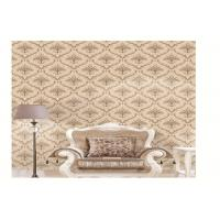 Beautiful PVC Vinyl Wallpaper For Living Room Wall , Contemporary Wall Coverings