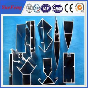 Quality oem industria aluminium extrusions anodized profiles for sale