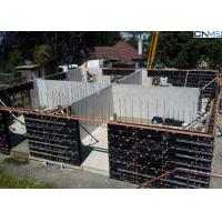 Quality Vertical Wall Formwork System Composed With H20 Beams , Steel Walings , Plywood for sale