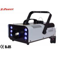 Quality Portable 900w Stage Fog Machine Party Smoke Machine With 6*3w 3 in 1 RGB LED  X-026 for sale