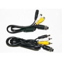 Quality Colorful 4 Pin RCA BNC Cable , BNC Video Cable For Marine Equipment for sale