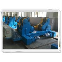 Buy Self-aligned Pipe Turning Rolls Bed Tank Pipe Vessel Seam Welding , 80T at wholesale prices