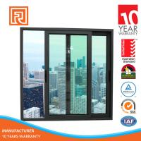 Quality Alibaba China Supplier AS2047 Standard aluminium arch slilding window grill design for sale