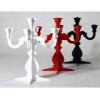 Quality CH-123 rose Acrylic candle holder for sale