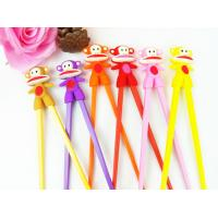 Buy cheap Custom Reusable Kids Training Silicone Chopsticks, Wholesale Bulk Chopsticks Sample Free from wholesalers