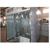 Quality Sampling / Dispensing Booth For Powder Weighting , Positive Pressure Clean Room ISO 5 for sale