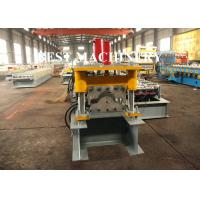 Buy Classic Glazed Roof Ridge Cap Roll Forming Machine Rain Gutter 5.5mx1mx1.4m Dimention at wholesale prices