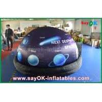 Quality ROHS Full Print With Start Inflatable Planetarium Dome Tent For Movie Projection for sale