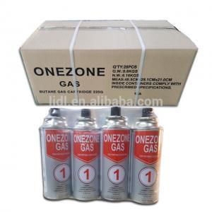Quality Lighter gas refill butane gas 300ml for sale