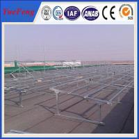 Quality Professional solar mounting/frame/brackets for ground system china manufacturer for sale