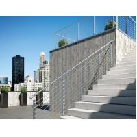 Quality Stainless steel inox round 8mm rod railing for balcony/ stair exterior for sale