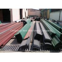 Quality Strip Lock Roof Sheet Self Lock Sheet Metal Roofing Machine , Roof Sheet Making Machine for sale