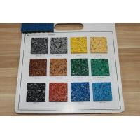Buy Fragmented Recycled Rubber Pellets Antibacterial Anti UV For Basketball Courts at wholesale prices