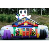 Quality Waterproof Inflatable Tunnels Haunted House Custom , Lilytoys Fun Inflatable Toys for sale