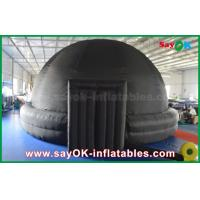 Quality School / Showing Portable Dome Inflatable Planetarium With Mobile Projector for sale