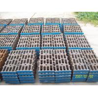 Buy Better Toughness High Mn Steel Mill Liners Casting For Cement Mill / Coal Mill at wholesale prices
