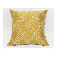 Quality Modern Style Decorative Sofa Pillows , Embroidered Geometric Throw Pillows for sale