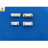 Quality Pitch 2.50mm PCB connector, single row 180° wafer  connector, XH shrouded header for sale