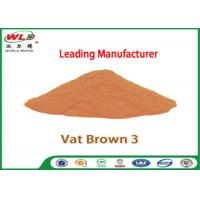 Quality Eco Friendly Fabric Dye C I Vat Brown 3 Brown RN Dyeing Of Cotton Fabric for sale