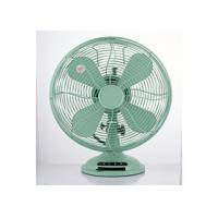Quality Copper 3 Speed 12 Inch Vintage Electric Fan CE CB 35W 4 Blade For Home for sale
