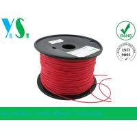China Flexible Red 1.75mm 3D Printing Material Filament Professional For Printing on sale