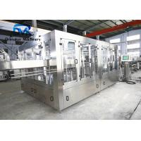 China Stable Performance Small Scale Soda Bottling Equipment 7000-8000 Bottles Per Hour on sale