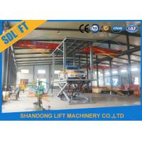 Quality Reliable Double Deck Car Parking System , 2 Cars Hydraulic Scissor Lift For Basement for sale