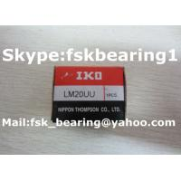 Quality LM20 UU Linear Motion Bearings Five Row Linear Rail Bearing 20mm × 32mm × 42mm for sale