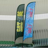 Quality Advertising Feather Flags , outdoor Flying banners for Tradeshow for sale
