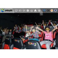 Quality Amazing 7d Simulator Cinema With Pneumatic / Hydraulic / Electronic Systems for sale