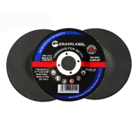 """Buy cheap 115mm Grinding discs for steel (115 x 6 x 22.2mm) 4.5"""" GRASSLAND from wholesalers"""