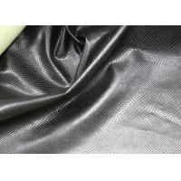 Quality Fashion High Grade PU Leather Fabric For Handbags No Fading Hydrolysis Resistance for sale