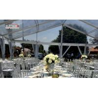 Buy cheap Romantic transparent marquee tent for 500 people wedding from wholesalers