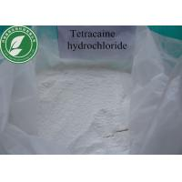 Buy cheap Local Anesthetics Powder Tetracaine Hydrochloride CAS 136-47-0 from wholesalers