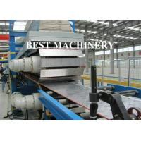 Quality Continuous Foam PU Sandwich Panel Production Line 25mx2.2mx2.5m Dimention for sale