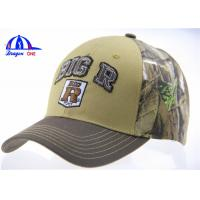 Quality Camo 6 Panel Trucker Baseball Cap and Hat  Breathable Baseball Cap for Man for sale