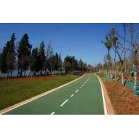 Quality Elastic EPDM Jogging Track Corrosion Resistant Recycled Clumb For Sidewalks for sale