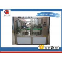 Quality Carbonated Drink Filling Machine 6KW 8000bph , Commercial Beverage Filling Machine for sale